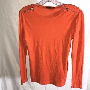 🧡 Cute Ralph Lauren Long Sleeved Top with Zippers